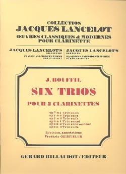 6 Trios - op. 8 n° 1 en sol - Jacques-Jules Bouffil - laflutedepan.com
