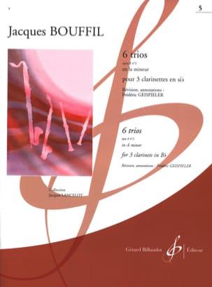 6 Trios - op 8 n° 2 en la mineur Jacques-Jules Bouffil laflutedepan