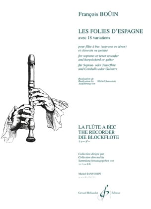 Francois Boüin - The Folies of Spain - Sheet Music - di-arezzo.com