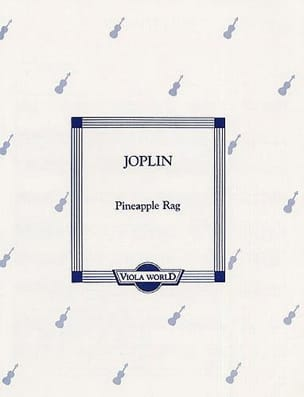 Scott Joplin - Pineapple Rag - Partition - di-arezzo.fr