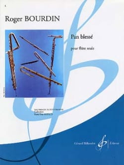 Roger Bourdin - Injured pan - Sheet Music - di-arezzo.co.uk