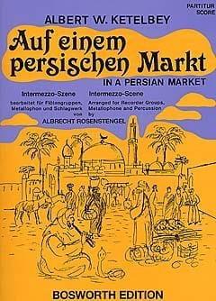 Auf einem persischen Markt - Albert W. Ketelbey - laflutedepan.com