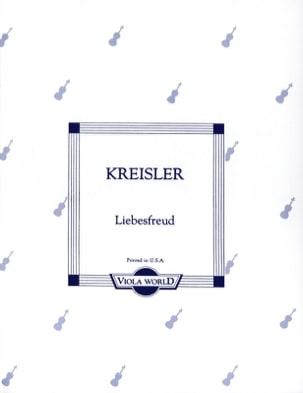 Liebesfreud - Alto Fritz Kreisler Partition Alto - laflutedepan
