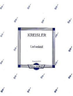 Fritz Kreisler - Liebeslied - Alto - Partition - di-arezzo.fr