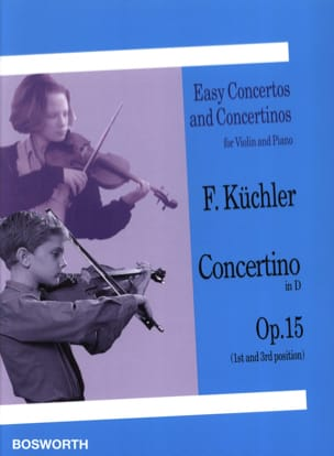 Ferdinand Küchler - Concertino in RE opus 15 - Sheet Music - di-arezzo.co.uk