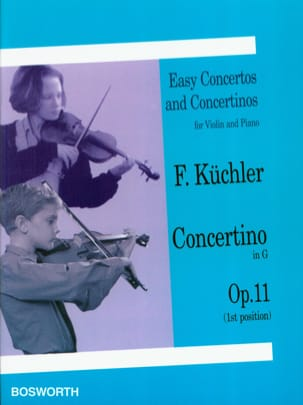 Ferdinand Küchler - Concertino in Sol Op. 11 - Sheet Music - di-arezzo.co.uk