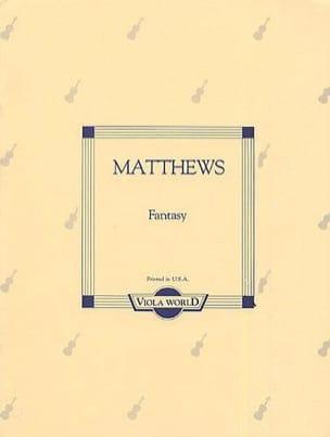 Fantasy – Viola - Holon Matthews - Partition - Alto - laflutedepan.com