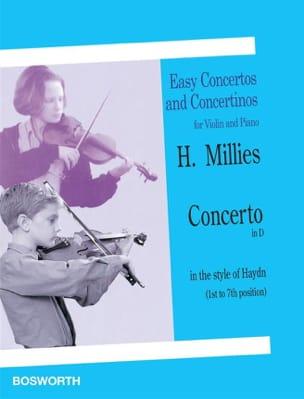 Hans Millies - Concerto en ré dans le style de Haydn - Partition - di-arezzo.fr