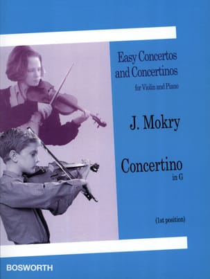 J. Mokry - Concertino in G – Violin - Partition - di-arezzo.fr