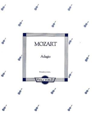 Adagio KV 261 - Alto - MOZART - Partition - Alto - laflutedepan.com