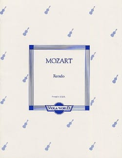Rondo KV 250 – Alto - Wolfgang Amadeus Mozart - laflutedepan.com