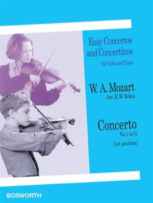 Mozart Wolfgang Amadeus / Rokos - Concerto No. 1 in G Major - Sheet Music - di-arezzo.co.uk