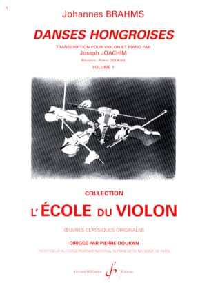 BRAHMS - Hungarian Dances Volume 1 N ° 1 A 10 - Sheet Music - di-arezzo.com