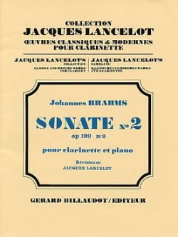 BRAHMS - Sonata No. 2 Op. 120 No. 2 - Partition - di-arezzo.com