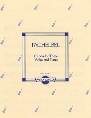 Canon for 3 Violas and piano - Johann Pachelbel - laflutedepan.com