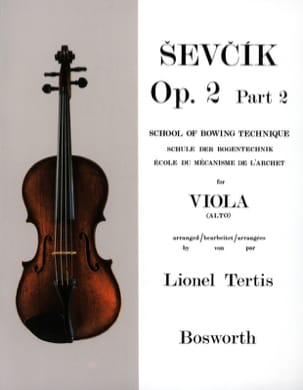 Otakar Sevcik - Studies Opus 2 / Part 2 - Alto - Sheet Music - di-arezzo.co.uk