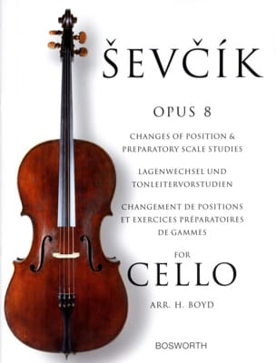 Otakar Sevcik - Etudes Opus 8 - Cello - Partition - di-arezzo.co.uk