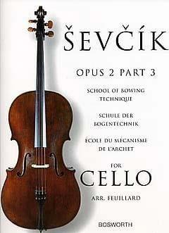 Otakar Sevcik - Studies Opus 2 / Part 3 - Cello - Sheet Music - di-arezzo.co.uk