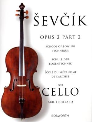 Otakar Sevcik - Estudios Opus 2 / Part 2 - Cello - Partitura - di-arezzo.es