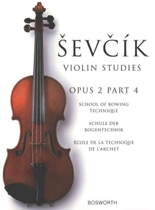 Otakar Sevcik - Etudes Opus 2 / Part 4 - Violin - Partition - di-arezzo.co.uk