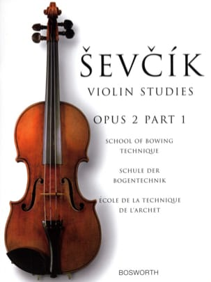Otokar Sevcik - Etudes Opus 2 / Part 1 - Violin - Sheet Music - di-arezzo.co.uk