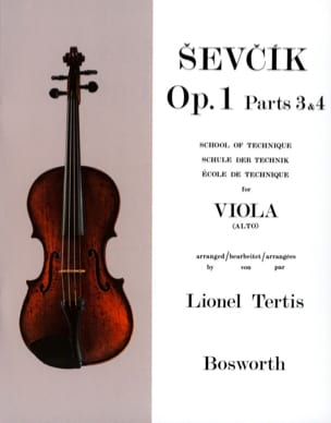 Otakar Sevcik - Opus Studies 1 / Parts 3 - 4 - Alto - Sheet Music - di-arezzo.com