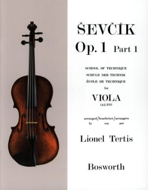 Otakar Sevcik - Studies Opus 1 / Part 1 - Alto - Sheet Music - di-arezzo.com