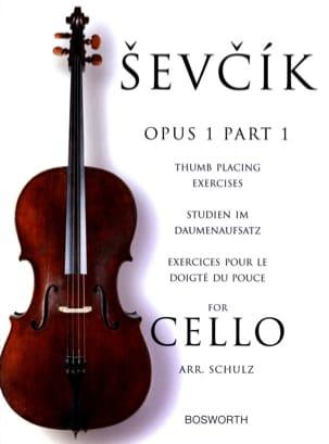 Otakar Sevcik - Estudios Opus 1 / Part 1 - Cello - Partitura - di-arezzo.es