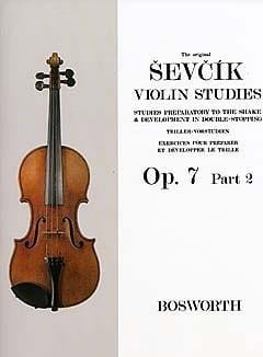 Otakar Sevcik - Etudes Opus 7 / Part 2 - Violin - Sheet Music - di-arezzo.co.uk