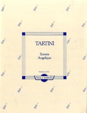 Giuseppe Tartini - Sonate Angelique – Viola - Partition - di-arezzo.fr