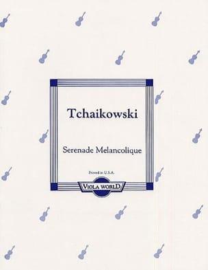 Sérénade Mélancolique - Alto TCHAIKOVSKY Partition Alto - laflutedepan