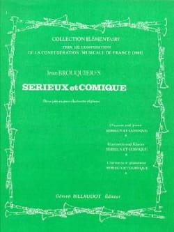 Sérieux et Comique - Jean Brouquières - Partition - laflutedepan.com