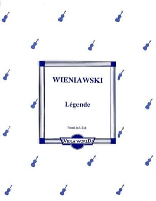 WIENIAWSKI - Caption - Viola - Sheet Music - di-arezzo.co.uk