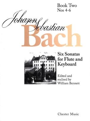 Johann Sebastian Bach - 6 Sonatas - Volume 2 – Flûte clavecin - Partition - di-arezzo.fr
