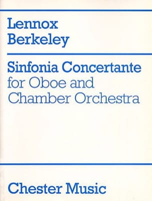 Lennox Berkeley - Sinfonia concertante op. 84 – Oboe piano - Partition - di-arezzo.fr