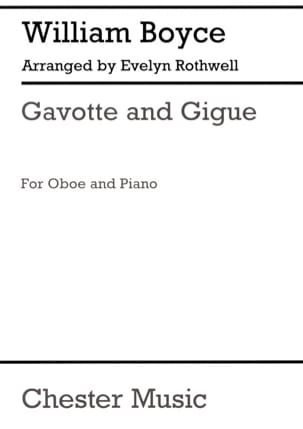 William Boyce - Gavotte y Gigue - Partitura - di-arezzo.es