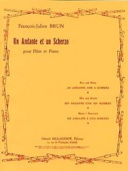 Un Andante et un Scherzo - François-Julien Brun - laflutedepan.com