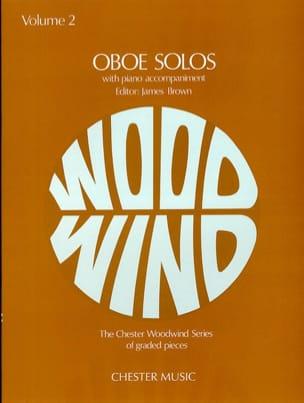 Oboe Solos Volume 2 James Brown Partition Hautbois - laflutedepan