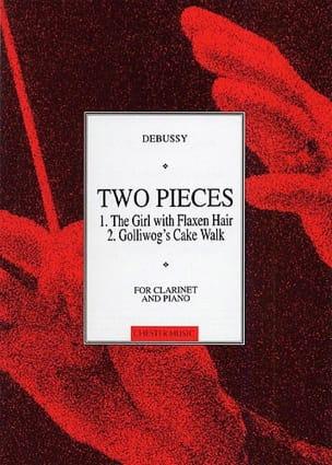 2 Pièces – Clarinette - Claude Debussy - Partition - laflutedepan.com