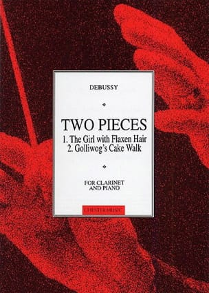 DEBUSSY - 2 Pièces - Clarinette - Partition - di-arezzo.fr
