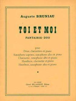 Toi et Moi - Auguste Bruniau - Partition - Trios - laflutedepan.com