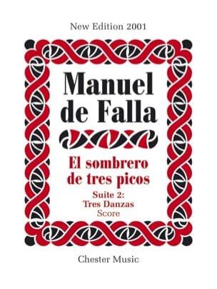 DE FALLA - El sombrero of very picos - Suite 2 - Sheet Music - di-arezzo.com
