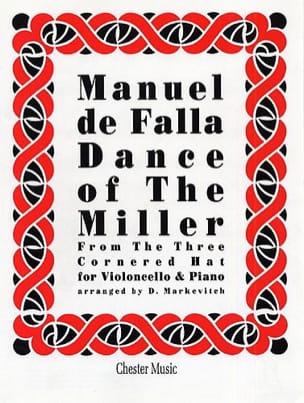 Danse du Meunier DE FALLA Partition Violoncelle - laflutedepan
