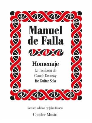 Manuel de Falla - Homenaje - Partition - di-arezzo.fr