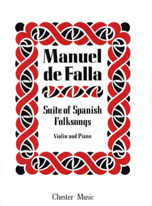 Manuel de Falla - Suite of Spanish Folksongs - Sheet Music - di-arezzo.co.uk