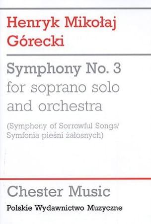 Symphony n° 3 – Study Score - laflutedepan.com
