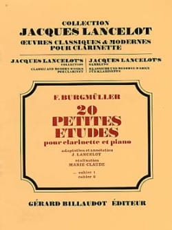 Frédéric Burgmüller - 20 Small Studies - Volume 1 - Sheet Music - di-arezzo.com