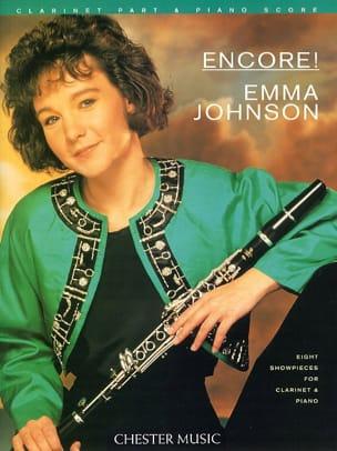 Emma Johnson - Encore ! –Clarinet piano - Partition - di-arezzo.fr