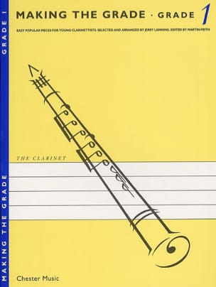 Jerry Lanning - Making the Grade Clarinet - Grade 1 - Sheet Music - di-arezzo.com