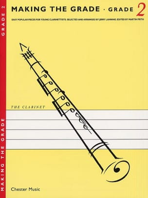 Jerry Lanning - Making the grade Clarinet – Grade 2 - Partition - di-arezzo.fr